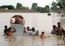 Flash floods in Pakistan