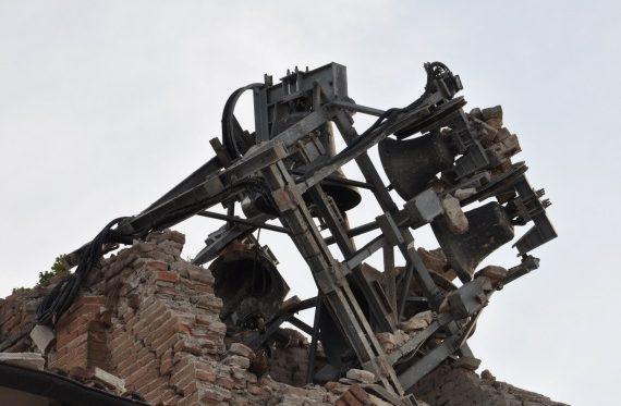 resti del campanile di Mortizzuolo