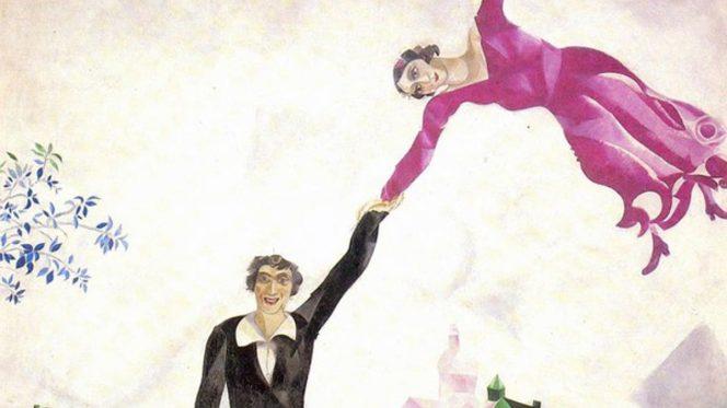 Chagall - la passeggiata