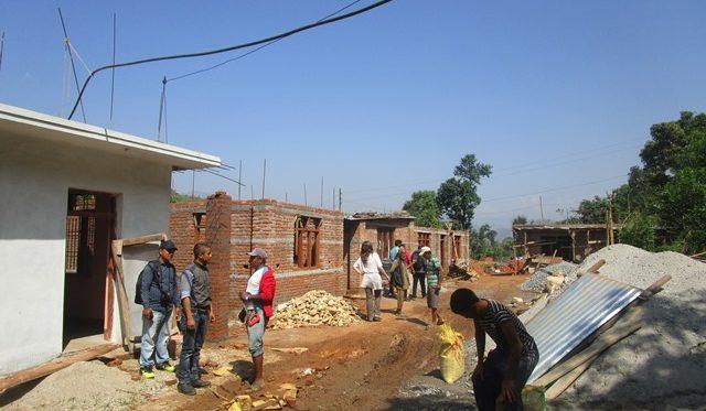 Nepal ricostruzione