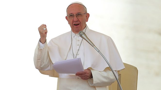 papa Francesco cinque anni