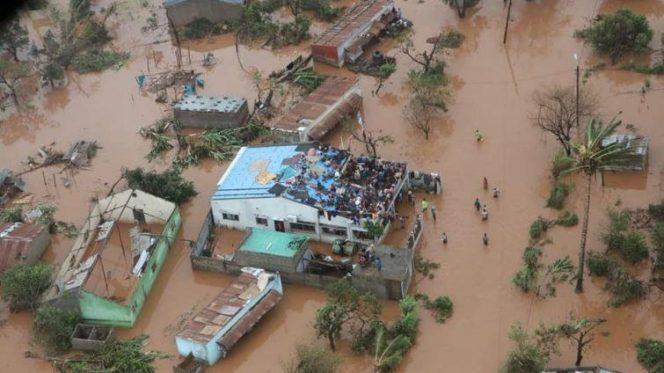 alluvione in Mozambico