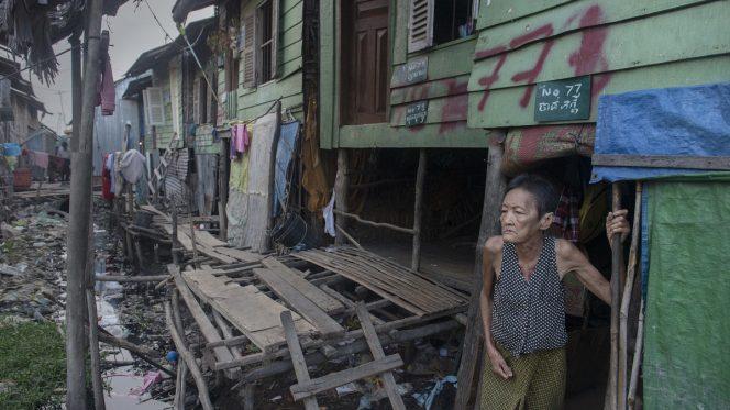 Una favela nelle Filippine