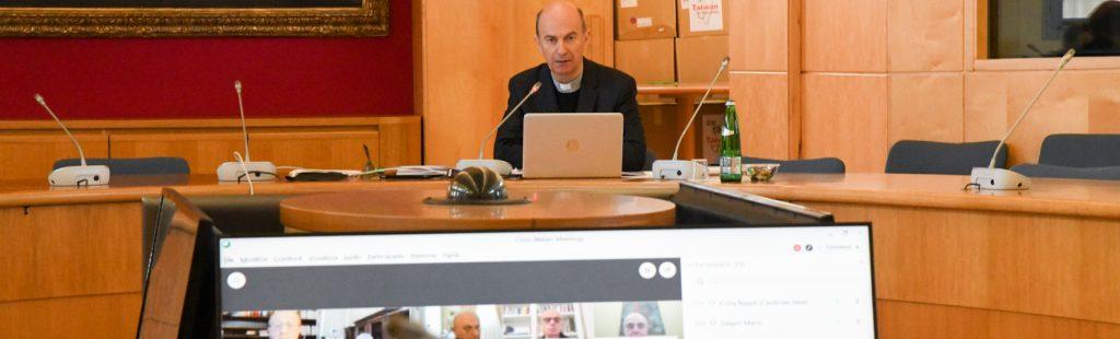 Roma, 16 aprile 2020: mons. Stefano Russo al Consiglio permanent